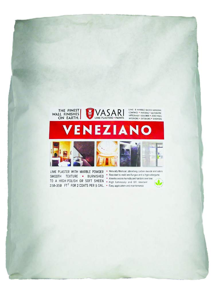 Prime Veneziano 35 Dry Mix Makes 5 Gallons Vasari Natural Lime Venetian Plaster Wall Finish The Best Plaster Paint Alternative Home Remodeling Inspirations Gresiscottssportslandcom