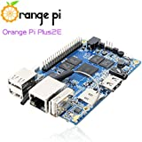 Orange Pi Plus 2E Single Board Computer with Quad Core 1.3GHz ARMv7 2GB DDR3 WiFi