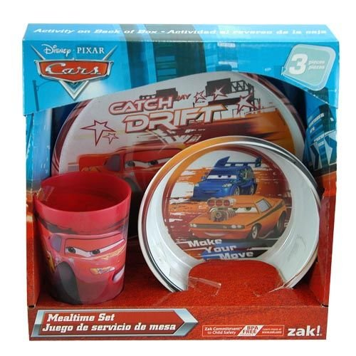 【史上最も激安】 Disney Pixer Cars Catch Piece the Drift 3 Piece Mealtime Drift Mealtime Set B00LV01UWA, ジュエリーショップ はな:622d0f44 --- a0267596.xsph.ru