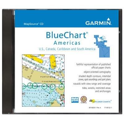 Mapsource BlueChart CD -