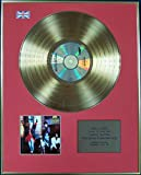 THOMPSON TWINS - Ltd Edition CD 24 Carat Coated Gold Disc - HERE'S TO THE FUTURE DAYS