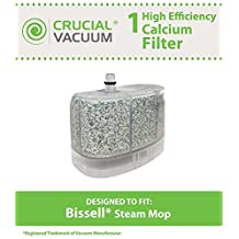 Crucial Vacuum 1 Bissell Vacuum Cleaner Water-Calcium Filter, Fits The Bissell Vacuum Steam Mop 218-5600, Part No.2185600