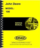 John Deere 100 Lawn & Garden Tractor Service Manual (30001 AND UP) JD-S-SM2106