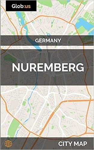 Nuremberg Map Of Germany.Nuremberg Germany City Map Jason Patrick Bates