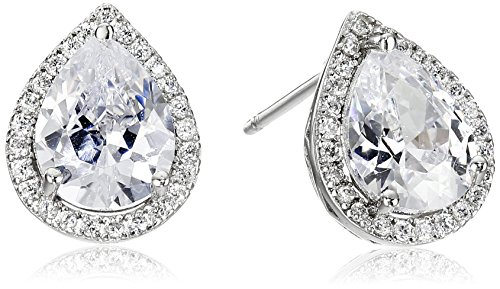 CZ by Kenneth Jay Lane Basic 4cttw Cubic Zirconia Pear-Shape Stud Earrings