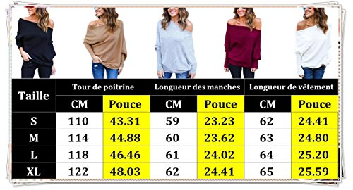 Hiver Chandails Femme Sexy Automne Pull SqI5q