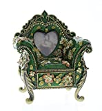 Chair Picture Frame with hidden Drawer Trinket Box With Bling