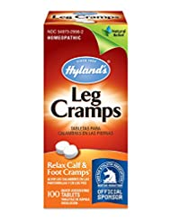 Hyland\'s Leg Cramp Tablets, Natural Relief of Calf, Leg and ...