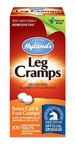 Hyland's Leg Cramp Tablets, Natural Relief of Calf, Leg and Foot Cramp, 100 Count PDF