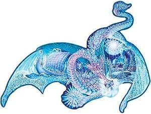 Ravensburger 1000 Piece Shaped Puzzle - Ice Dragon