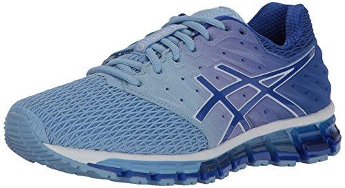 Asics Airy Purple Women's quantum Medium 5 180 Gel blue white Running 2 Us Shoe Blue 00qAr