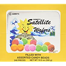Satellite Wafers Flying Saucers Candy Old Fashioned 240 by GERRIT'S