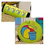 Luggage Tag and Handle Wrap Set - Beach Toys