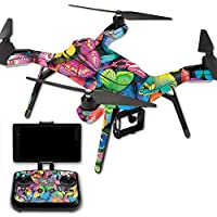 Skin For 3DR Solo Drone – Butterfly Party | MightySkins Protective, Durable, and Unique Vinyl Decal wrap cover | Easy To Apply, Remove, and Change Styles | Made in the USA