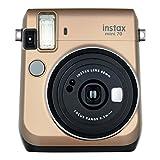 Fujifilm Instax Mini 70 - Instant Film Camera, Stardust Gold