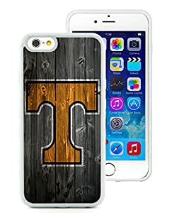 100% brand new Southeastern Conference SEC Football Tennessee Volunteers 06 White iPhone 6 (4.7 Inch) TPU Case
