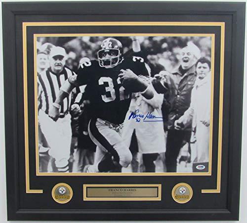 Franco Harris Steelers Signed Framed Photo