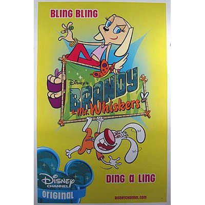 (27x41) Brandy & Mr Whiskers Original Poster