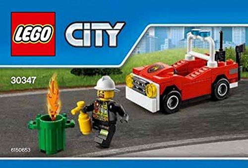 30346 LEGO City Town Fire Polybag Set 30347 Fire Car