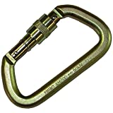 Portable Winch Co. PCA-1702 Steel Locking Carabiner