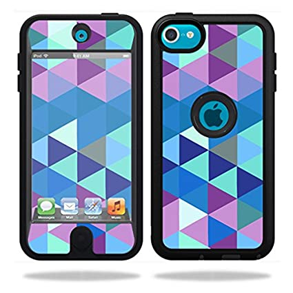 Amazon MightySkins Protective Vinyl Skin Decal For OtterBox Defender IPod Touch 5G Case Wrap Cover Sticker Skins Purple Kaleidoscope Cell Phones