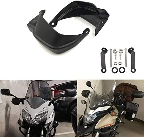 Fltaheroo Moto Brosse Poign/éE Barre Garde-Main Garde-Main Coquille Coupe-Vent pour XL125V XL125 Varadero XL 125 V