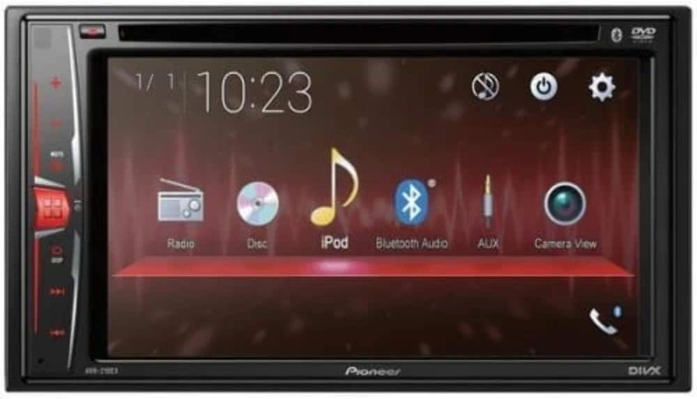 Pioneer AVH-210EX DVD Receiver with Bluetooth