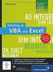 Einstieg in VBA mit Excel: Für Microsoft Excel 2002 bis 2013 (Galileo Computing)