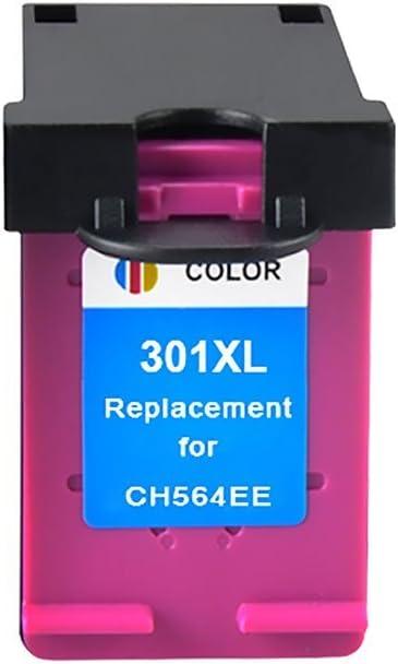 Bosumon Cartuchos Reemplazo para HP 301XL 301 XL V1 Set de cartuchos de tinta remanufacturados, color, con nivel de tinta, 4507 e-AiO 4643: Amazon.es: Oficina y papelería