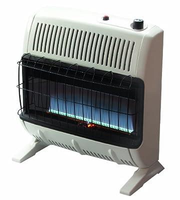 Mr. Heater 30,000 BTU Natural Gas Blue Flame Vent Free Heater