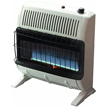 propane wall heaters ventless vented heater indoor mounted blue flame vent free