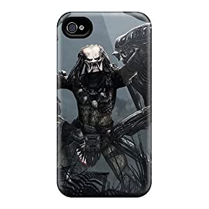 Case Cover Aliens Vs. Predator Game/ Fashionable Case For Iphone 4/4s