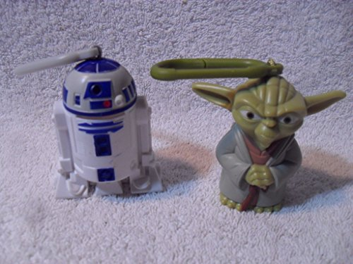 Star Wars Yoda and R2 D2 2010 McDonalds Toy Keychain from McDonald's