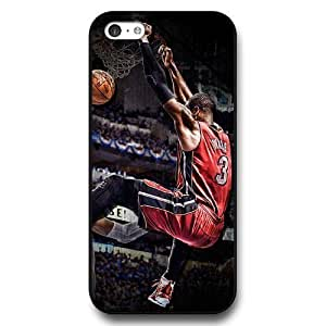 diy phone caseOnelee (TM) - Customized Personalized Black Hard Plastic iphone 5/5s Case, NBA Superstar Miami Heat Dwyane Wade iphone 5/5s case, Only Fit iphone 5/5s Casediy phone case