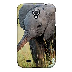 Hot Snap-on Cute Little Elephant Hard Cover Case/ Protective Case For Galaxy S4