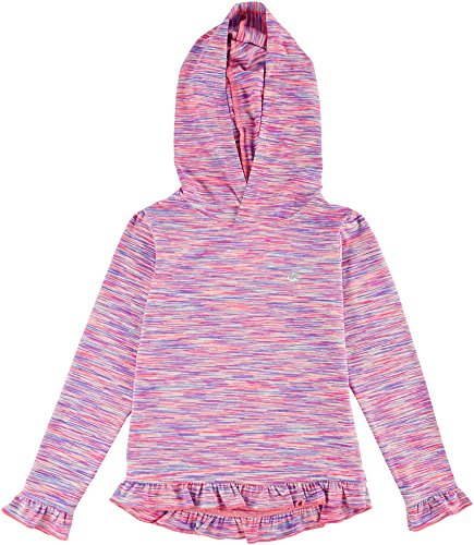 Champion Little Girls Ruffle Hoodie 6 Purple (Girls Champion Clothes compare prices)