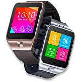Indigi® 2-in-1 GSM Unlocked Bluetooth Sync Smart Watch for iPhone 6