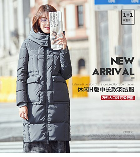 Generic High-Vatican winter new casual version long section female Korean fashion warm down jacket thick coat tide for women girl by Generic (Image #6)