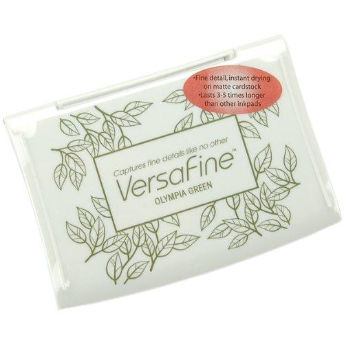 VersaFine Pigment Inkpad-Olympia Green