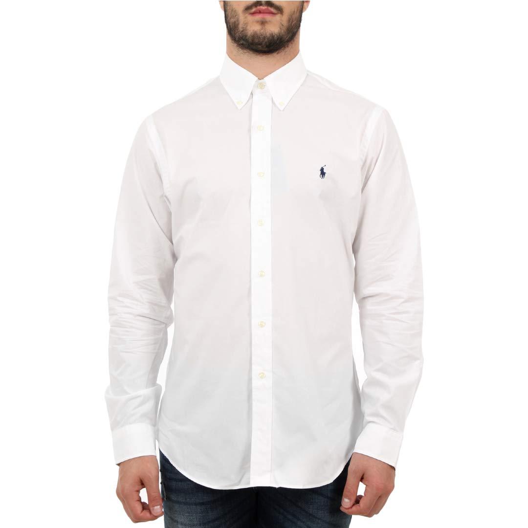 Ralph Lauren 710705269 Camicie Uomo White XL 15660_95236