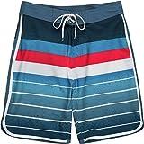 Burnside Unreal Stretch Boardshort - Men's Blue, 36