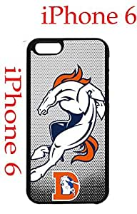 Denver Broncos iPhone 6 4.7 Case Hard Silicone Case