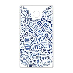 BYEB Oliver Lovely blue bear head Cell Phone Case for Nokia Lumia X