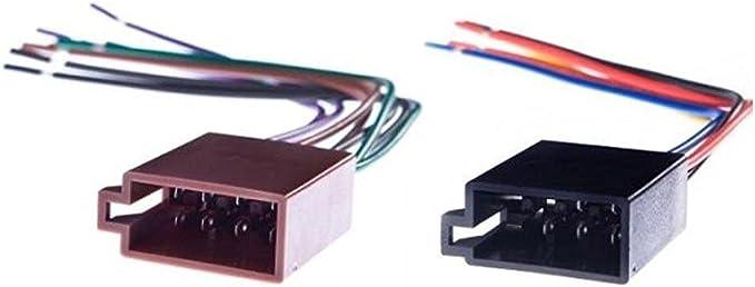 RENNICOCO Cavo Adattatore Universale ISO Car Radio Wire Wiring Harness Adattatore Connettore Plug Power