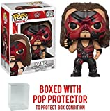 Funko Pop! WWE Kane Exclusive Vinyl Figure (Bundled with Pop BOX PROTECTOR CASE)