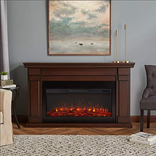 Cheap Real Flame Carlisle Electric Fireplace Chestnut Oak Black Friday & Cyber Monday 2019