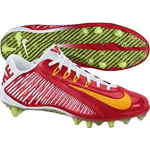 Nike Vapor Carbon Elite Td Heren Voetbal Klampen Rood / Wit