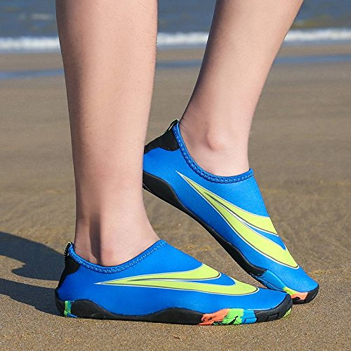 Women Shoes Sports Water Bigood Outdoors Socks Lovers Boy Girls Aqua Men Blue 6awq6Txn