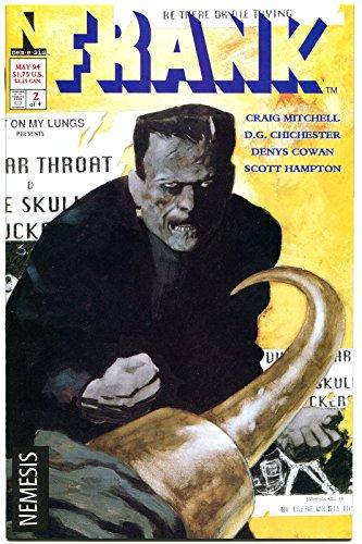 FRANK #1 2 3 4, NM, Frankenstein, Monster, Present Day, 1994, more in -