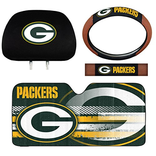 (Team ProMark NFL Green Bay Packers Interior Auto Kit)